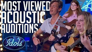 Download Lagu 5 MOST Viewed Acoustic Song Auditions On American Idol 2018 | Idols Global Gratis STAFABAND