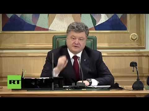 Ukraine: 'I am ready for referendum on federalisation' - Poroshenko