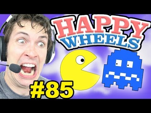 Happy Wheels - PAC MAN
