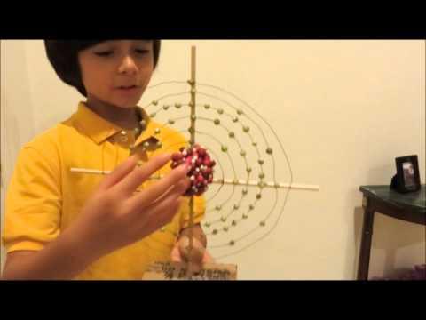 Nitrogen Model Project Atom Model Science Project