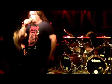 Cannibal Corpse - The Wretched Spawn&I Will Kill You (live at the V-Club) 04-08-2012