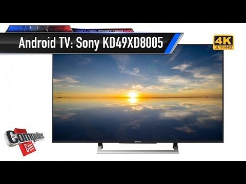 Sony KD49XD8005 mit Android im Test: Lohnt der Google-TV?