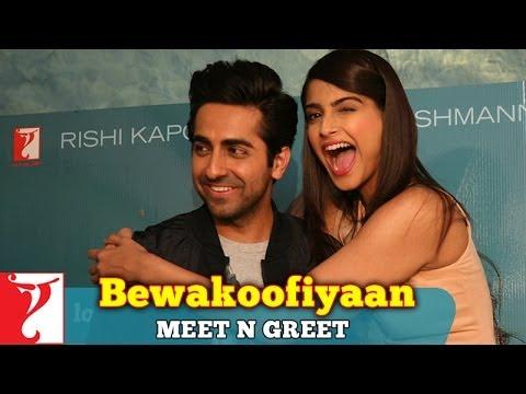 Meet-n-Greet With Ayushmann Khurrana & Sonam Kapoor - Bewakoofiyaan