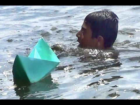 Paper Boat With Knife Paper Boat Making And