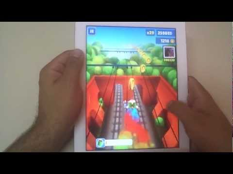 Novo iPad: Subway Surfers - Jogo que roubou minha alma