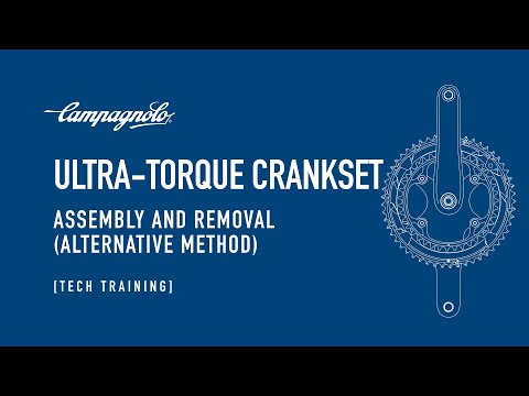Campagnolo - Assembling and disassembling  Ultra Torque Crankset (alternative way)
