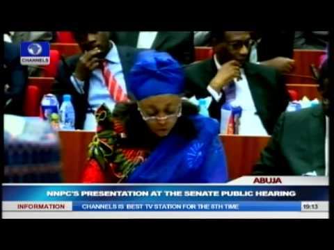 Missing $20bn: NNPC Makes Presentation During Senate Public Hearing Pt.2