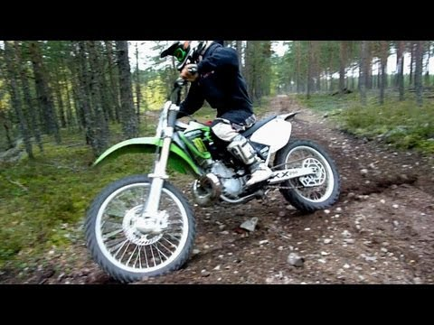 KX 250 FMF Gnarly.VForce3 - Autumn Ride