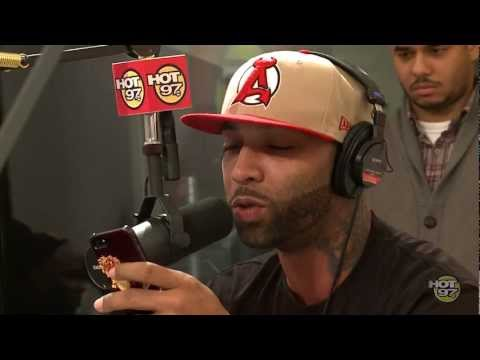 "Joe Budden Freestyles Over ""Grindin"" With Funkmaster Flex!"