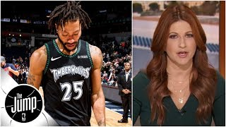 Rachel Nichols reacts to Derrick Rose redemption narrative after 50-point game | The Jump