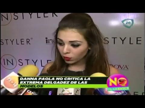 Danna Paola se sometería a cirugías plásticas si lo necesitará
