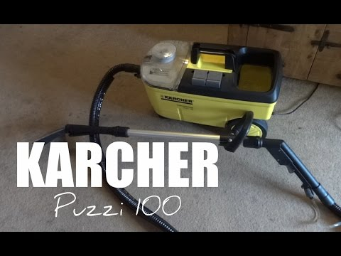 Karcher Puzzi 100 Carpet Cleaner - Full Review