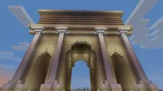 Arch of Septimius Severus in Minecraft