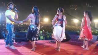 सेज पर केकरा संघे लड़ब || Bhojpurihits live 2017 Song by Super Star Singer Actor Khesari lal yadav