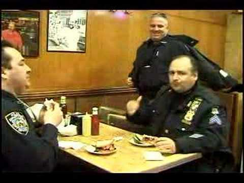 Katz's Delicatessen  - NYPD lunch time