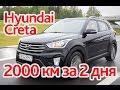 Hyundai Creta: супертест на 2000 км + посещение завода