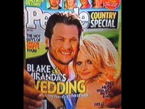 [EQC] Blake Shelton proposed to Miranda Lambert in the song
