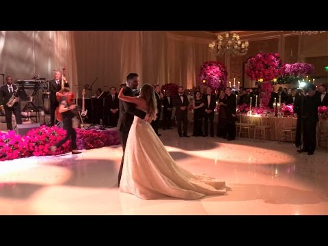 Sofia Vergara's Wedding Serenade