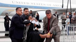 Did Obama Have Journalist Brenda Lee Forcibly Removed From Air Force One