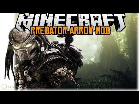 Minecraft mody 1.7.2 #80 ARROW PREDATOR MOD WERTEX PREDATOREM LOL