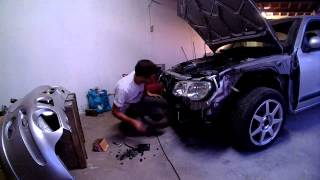 Rover 25 Time Lapse Repair