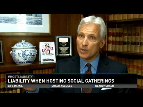 WFMY2 News - David Daggett Speaks on 'Host Liability' When Serving Alcohol to Adults & Minors