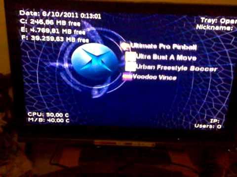 XBOX Exploit Virtual- HD 250GB