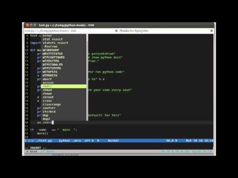 VIM Python-mode