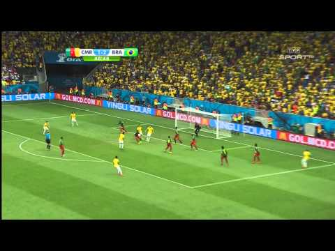 World Cup 2014 Group A Cameroon vs Brazil 2014 All Goals/Kamerun - Brazylia