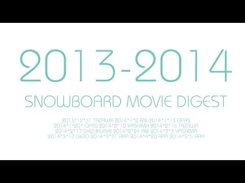 2013-14 SNOWBOARD MOVIE DIGEST