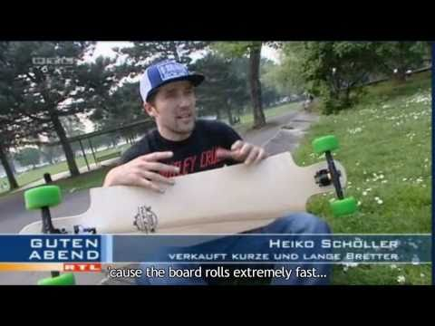 Longboarding: Greenskate on RTL Germany