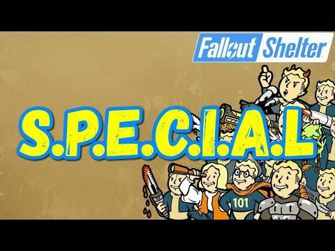 Fallout Shelter SPECIAL На Что Влияет ГАЙД [ #Fallout #Shelter ]