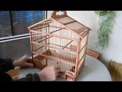 Как сделать клетки для птиц своими руками