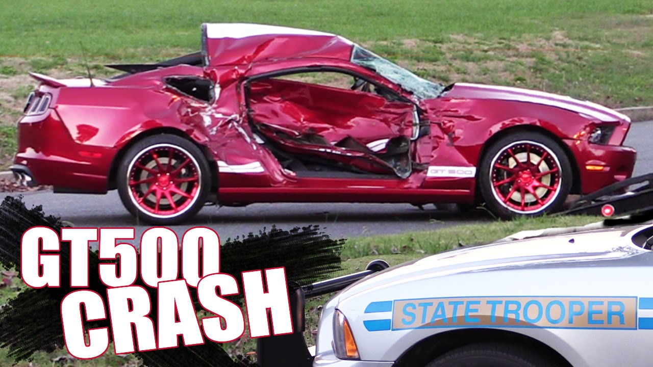 [When Showing Off In Your Shelby GT500 Goes Wrong] Video