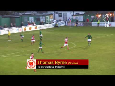 Goal: Thomas Byrne (vs Bray Wanderers 01/06/2018)