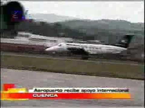 Aereopuerto de Cuenca recibe apoyo internacional