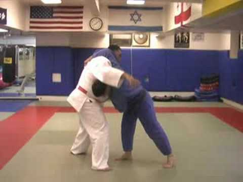 Sumi Gaeshi countered (Yoko) Sutemi waza Image 1