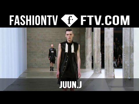 Juun. J Spring/Summer 2016 Show   Paris Men's Fashion Week   FashionTV