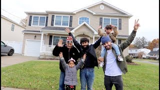SURPRISED MY FAMILY WITH A NEW HOUSE!! *my dad cried*