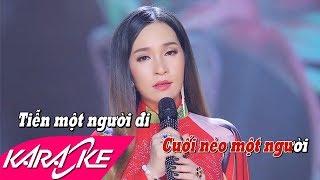 Hoa Nở Về Đêm Karaoke - Đào Anh Thư | Nhạc Vàng Bolero Karaoke
