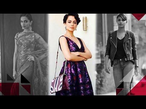 Kangana Ranaut targets Deepika Padukone & Priyanka Chopra   Bollywood Gossip