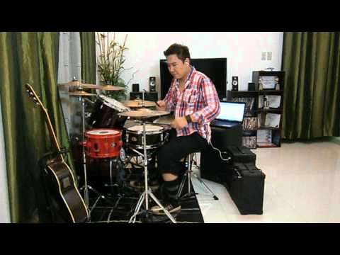 Slam Dunk Anime (opening Theme Song) Drum Cover By Bryan Arcega video