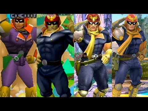 Super Smash Bros Wii U | Captain Falcon Evolution
