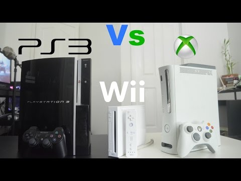 PlayStation 3 Vs Xbox 360 Vs Wii - Review