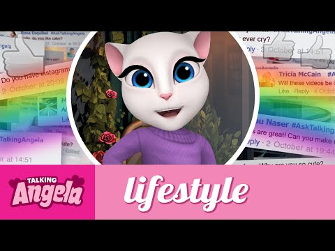 Talking Angela's Q&As - Food, Friends and Pets