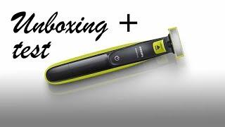 Philips oneblade. Unboxing y testeo. Español