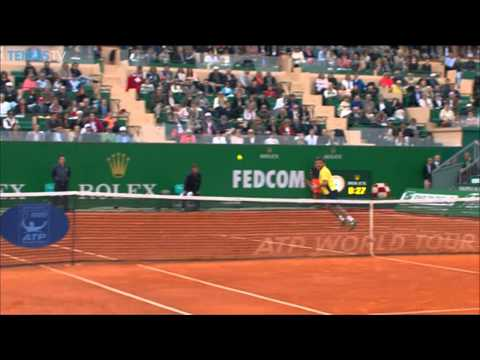 Wawrinka Shows Finesse In Monte-Carlo Hot Shot Against Federer