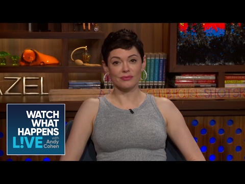 Rose McGowan on the Adam Sandler Sexist Casting Note - WWHL