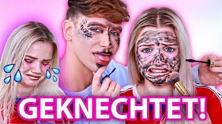 MASCARA als FOUNDATION! Makeup Roulette KNECHTET JULIA BEAUTX! .. & mich | Marvyn Macnificent