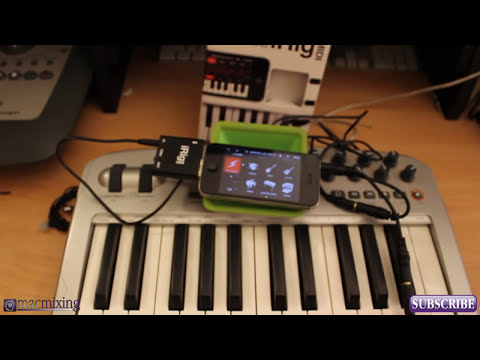iRig MIDI Tutorial / Demo - Review - How to Use SampleTank with iRig MIDI - IK Multimedia
